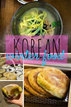 Korean Winter Food