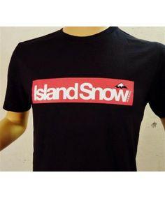 5a0eb463a79f4 Men s Island Snow Hawaii Premium Fit Tee - ISH Block Logo XL  Color  Options  White