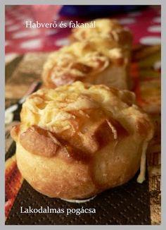 Habverő és fakanál: Lakodalmas pogácsa Baked Potato, Potatoes, Sweets, Baking, Ethnic Recipes, Cakes, Food, Gummi Candy, Cake Makers