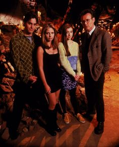 Buffy the Vampire Slayer, TV Series by Joss Whedon Gallery 5/10 (32 HQ pictures) Sunnydale High School's lockers : Emma Caulfield : Eliza Dushku as Faith : Michelle Trachtenberg as Buffy&#821…