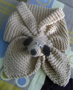 Ravelry: Children's Raccoon Scarf By Lin - Diy Crafts - maallure Kids Knitting Patterns, Baby Hats Knitting, Knitting For Kids, Knitting Projects, Crochet Projects, Hand Knitting, Crochet Patterns, Crochet Scarves, Knit Crochet