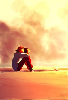 Pascal Campion Art I love his art. His romantic shots are never, at least what I've seen, abrasively inappropriate. Somehow he catches that raw, sweet flavor without any extreme cases of nudity. Here you see two people just sitting there, simply enjoying time with each other. Sure they're covered up, but you still see love in its purest form.