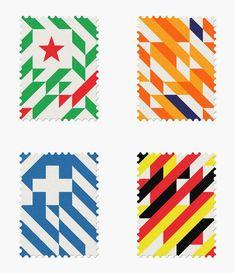 World Cup Stamps | Maan Studios