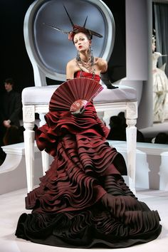 nice Happy Birthday John Galliano: Celebrating 56 years!... Haute couture Check more at http://pinfashion.top/pin/64493/