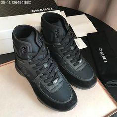 Chanel woman shoes casual sport sneakers tennis trainers high tops Fresh  Kicks 10e66f2fa9