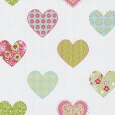 Dutch Wallcoverings Happy Kids behang  Prijsper rol €18,95 Afmetingen: 10M lang en 53CM breed Artikelnummer: 05583-20 Patroon: (geen patroon) Kleur: wit, groen, blauw, roze Behangplaksel: Perfax blauw Kwaliteit: papierbehang harten behang - hartenbehang - kinderbehang - babybehang - meisjesbehang