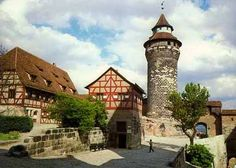 Nurnberg, Germany.  The heart of this intact medieval city sings with excitement, there are many tiny shops and curiosities here, plus you can eat your fill of the traditional and original Nurnberger Sausages.
