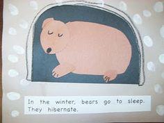 Maro's kindergarten: Booklet for hibernation made by children! Kindergarten Rocks, Kindergarten Themes, Preschool Themes, Classroom Activities, Preschool Projects, First Grade Crafts, Winter Theme, Winter Art, Winter Ideas