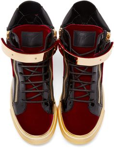5505199381f53 9 Best giuseppe zanotti red velvet london high tops images in 2018 ...