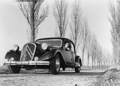 Traction Avant Citroën 15 cv la reine de la route dans les années 50!