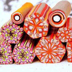 My polymer clay canes