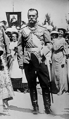 ♔Tsar Nicholas II of Russia