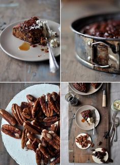 Nick's Old Cape Brandy Tart. A deliciously dark and tasty cake for a weekend afternoon tea date. Cute Food, Good Food, Yummy Food, Food Hacks, Food Tips, South African Recipes, Something Sweet, Aesthetic Food, Yummy Cakes
