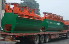 delivery the flotation machine to Indonesia