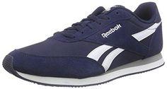 Oferta: 52€. Comprar Ofertas de Reebok Royal Classic Jogger 2, Zapatillas de Running para Hombre, Azul / Blanco / Gris (Collegiate Navy/White/Baseball Grey), barato. ¡Mira las ofertas!
