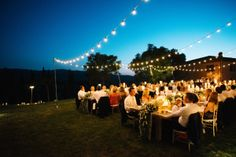 With the help of amazing vendors like The Tuscan Wedding, Tuscany Flowers, Momental Designs and Jenny Yoo, this American couple brought New York glamour to the rustic Italian countryside for a wedding...