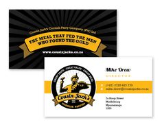 Cousin Jack's Corporate Identity - Business Card Design by Sunflood