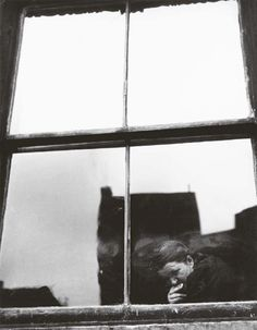 Leon Levinstein Untitled (figure at a window),1950's