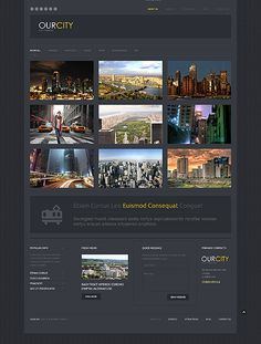 Urban – City Portal Responsive WordPress Design