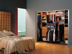 Small Bedroom Closet organization - Best Paint for Interior Check more at http://www.freshtalknetwork.com/small-bedroom-closet-organization/
