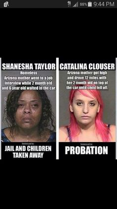 the one on the left is even crying, and the cunt on the right  was the one that should've been in jail for intoxication while driving.