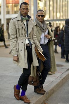 This trench coat is a wardrobe essential. Find a similar look at Sneak Outfitters http://www.sneakoutfitters.com/Sneak-Out-Sale/Men-s-SALE/Double-Breasted-Designer-Trench-Coat-p1612.html
