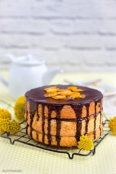 Really nice recipes. Every hour. • Jaffa Cake – Chocolate and Orange Layer Cake...