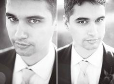 ☆ xoxo. ☆ groom portrait | wedding photography by #littlefangphoto #ideas #fun #handsome #groom #poses #closeup #blackandwhite #photography