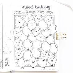 Bullet Journal Pac Man weight loss tracker by Jodie Kisiel