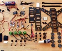250 quadcopter, full build