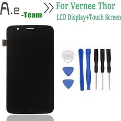 "Di alta Qualità Per Vernee thor Display LCD + Touch Screen Digitalizzatore Sostituzione Per Vernee thor 5.0 ""SmartPhone + Spedizione strumenti"
