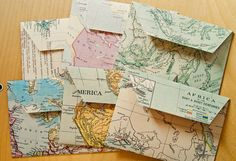 Beautiful places for living: Maps from my travels all around the world
