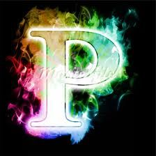 Beautiful Letters P