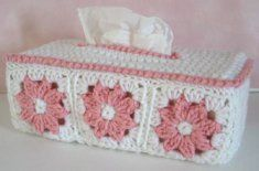 Free Floral Tissue Box Cover Pattern, thanks so xox