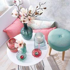 beistelltisch d 50 x h 50cm weiss wohnzimmer farbe bunte farben
