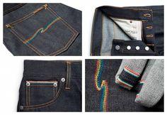 1x1.trans Nudie Jeans Co x Oi Polloi: Grim Tim Dry Rainbow