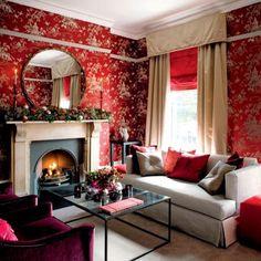 red-christmas-living-room-decor