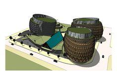 Mental Health Facilities, Urban Village, Aerial View, Architecture, Arquitetura, Architecture Design