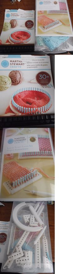 Knitting Boards and Looms 113343: Martha Stewart Crafts Knit And Weave Loom Kit New In Box -> BUY IT NOW ONLY: $35 on eBay!