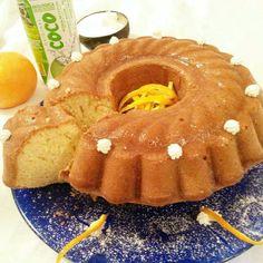 Direi.. esperimento riuscito! 😍 La ricetta del mio ciambellone all'acqua di cocco è sul blog 👉 http://blog.giallozafferano.it/ipasticcinidinina/ciambellone-acqua-di-cocco/  @instafoodnina #homemade #breakfast #buongiorno #ciambellone #acquadicocco @isolabio #colazione #donut #cake #cooking #orange #baked #food #girl #instafood #foodlover #bomdia #lory_alpha_food #lemillericette #coconut #don_in_cucina #foodpic #morning #recipes #trovaricetta #insta_food #gutenmorgen #dessert
