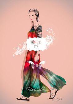 Ilustraciones de moda - Sophie Griotto Ilustración