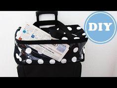 Boxbag als Koffertasche zum Aufsetzen nähen| DIY | IKEA - Stoff - YouTube American Dollar, Vinyl, Bags, Indie, Sewing, Videos, Travel, Backpack Purse, Backpacks