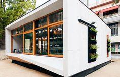 Diseño de casa pequeña autosustentable ecológica