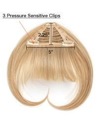 Hair Extensions.com :: The Hair Professionals :: Hairpieces & Ponytails :: Bangs :: Clip In Bangs (1 pc) by hairdo