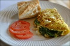 la Madeleine Smart Choice omelet