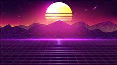 Vaporwave Wallpaper, New Retro Wave, Retro Waves, Neon Wallpaper, Sunset Wallpaper, Technology Wallpaper, Computer Wallpaper, Kurama Susanoo, Arcade