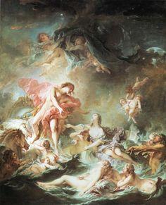 François Boucher - The Setting of the Sun, 1753, oil on canvas