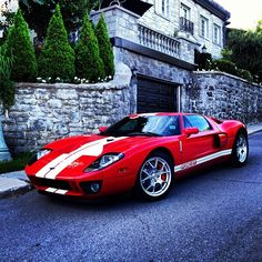 Gorgeous Ford GT - Don't need a college degree for this... http://NoCollegeDegreeForMe.com