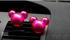 2pcs Hotsale Auto Supplies Incense Ball Mickey Outlet Car Perfumes Seat Styling Air Freshener Magic Fragrance
