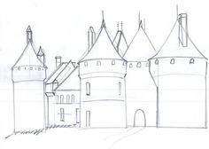 How to Draw a Medieval Castle: 6 steps - wikiHow